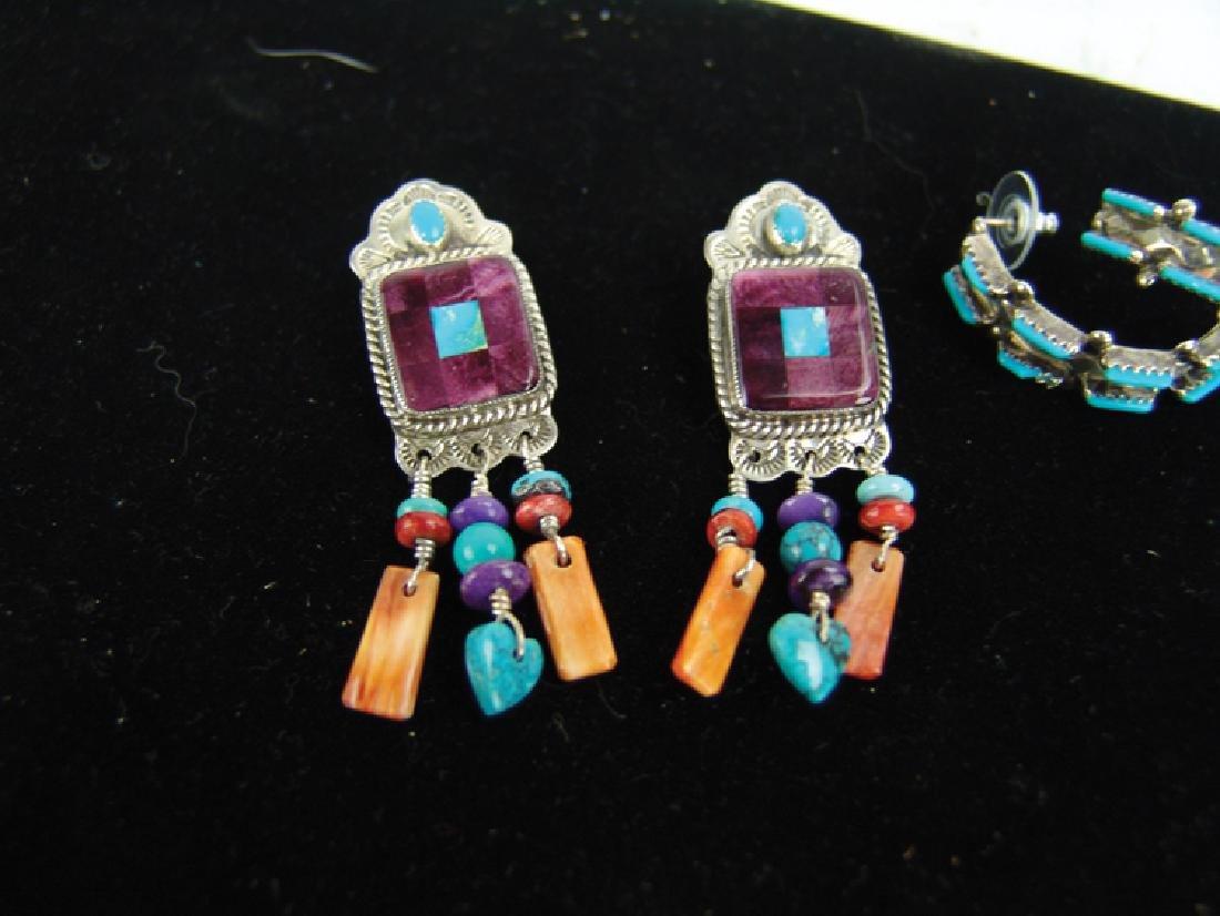 3 Silver Jewelry Items - 4