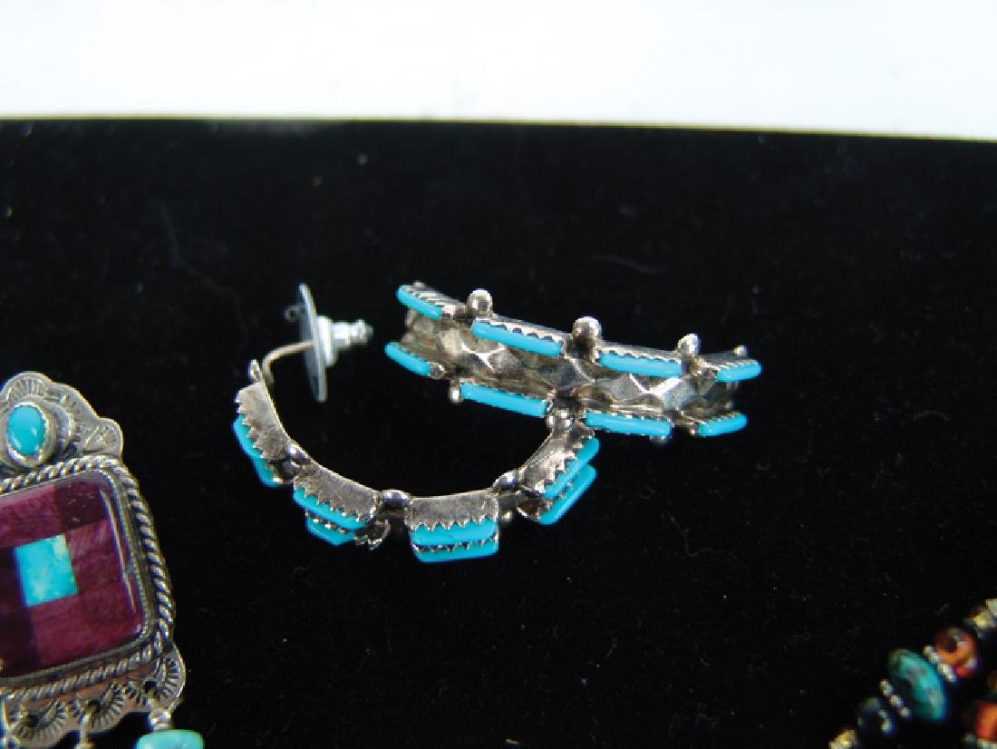 3 Silver Jewelry Items - 5