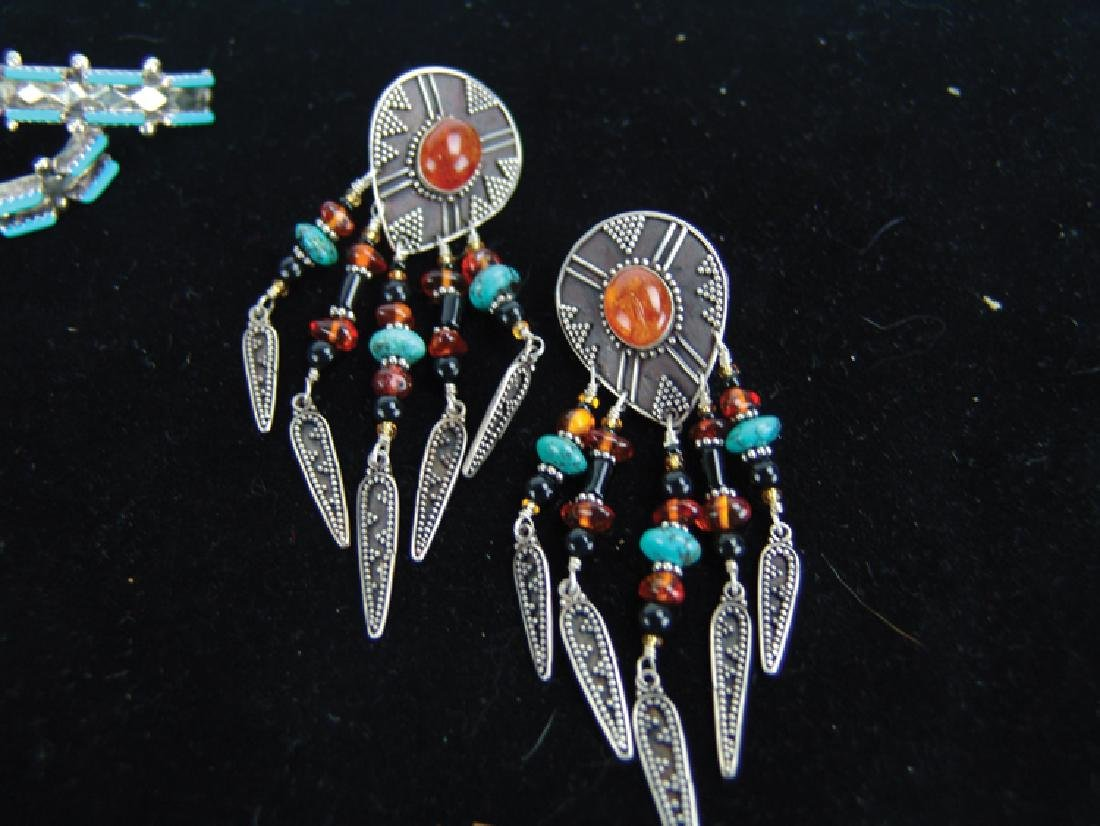 3 Silver Jewelry Items - 6