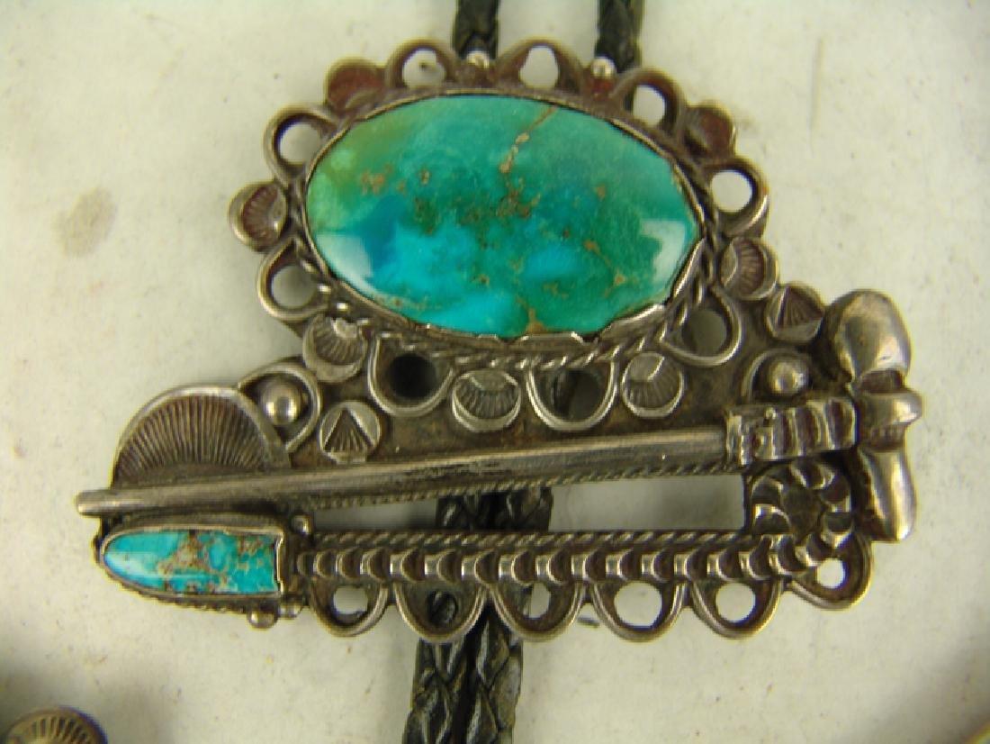 Vintage Navajo Jewelry - 4
