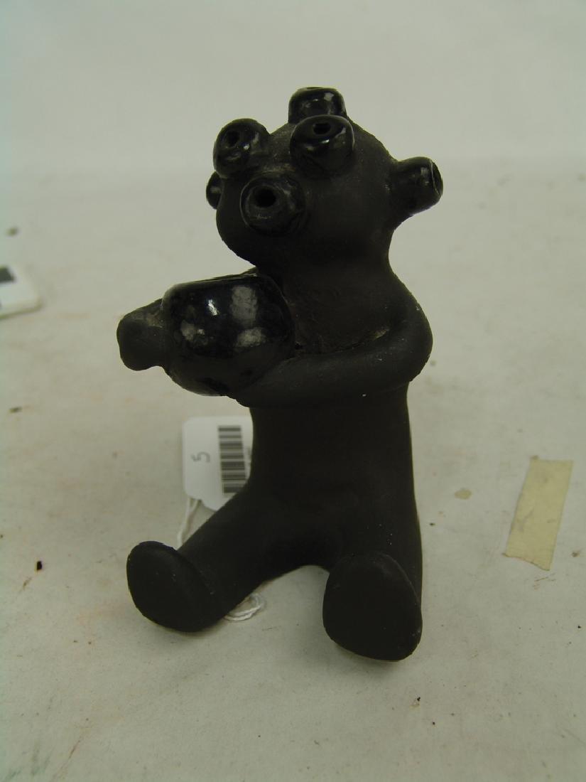 Santa Clara Pottery Figure-Dorothy &Paul Gutierrez - 2