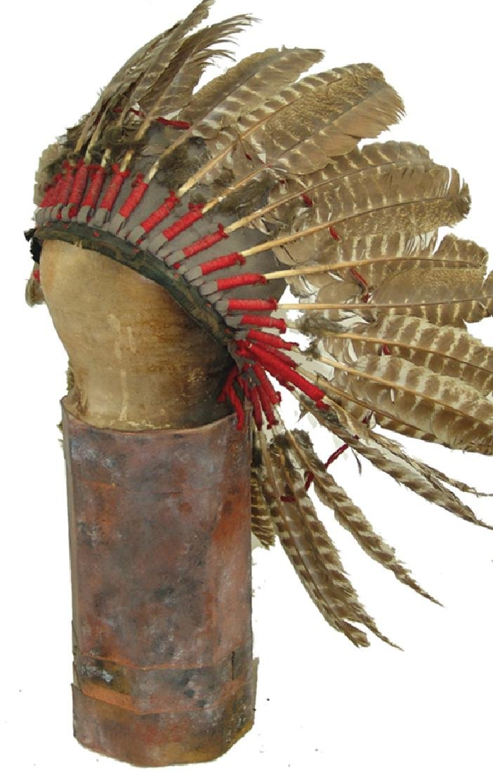 Feather Headdress Display