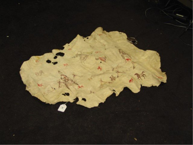 Osage Painted Hide - James Martin - 5