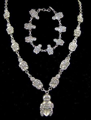 Spanel Storyteller Necklace and Bracelet