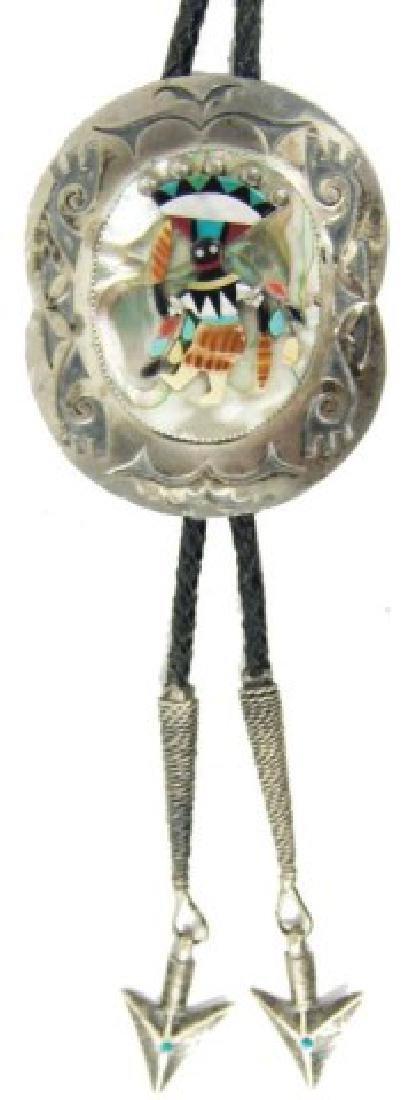 Navajo Bolo Tie - Mary Morgan