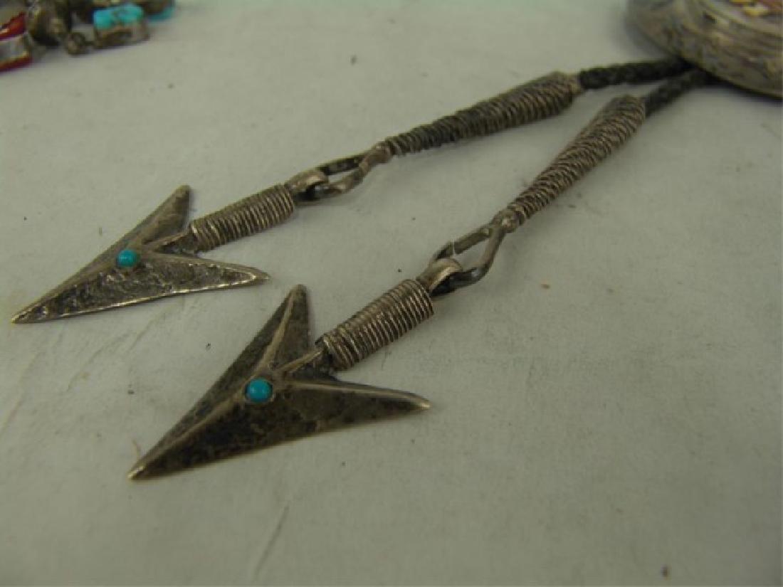 Navajo Bolo Tie - Mary Morgan - 5
