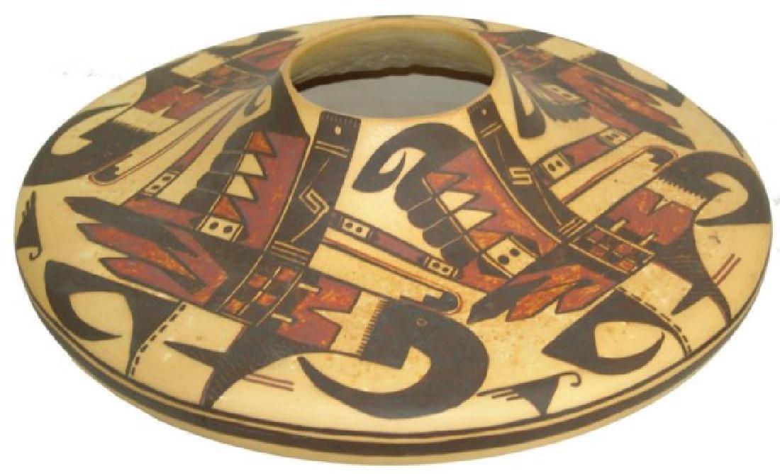 Hopi Style Pottery Jar - Michael Howley