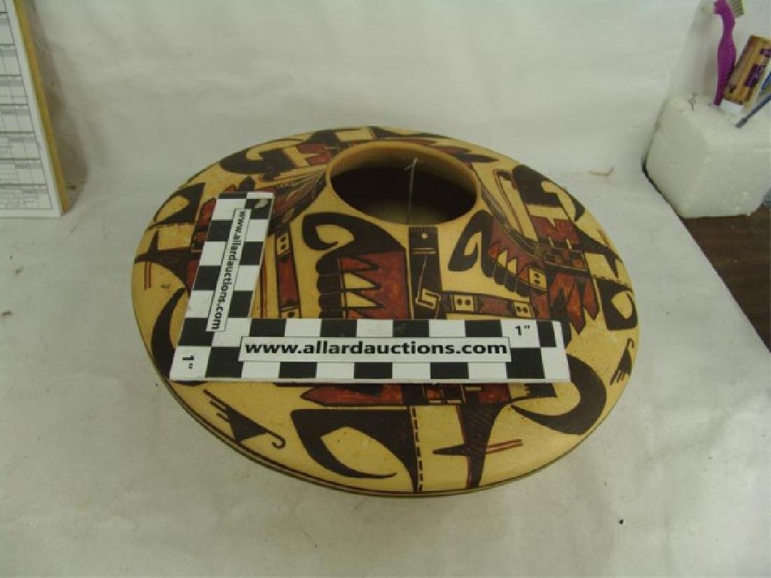 Hopi Style Pottery Jar - Michael Howley - 6