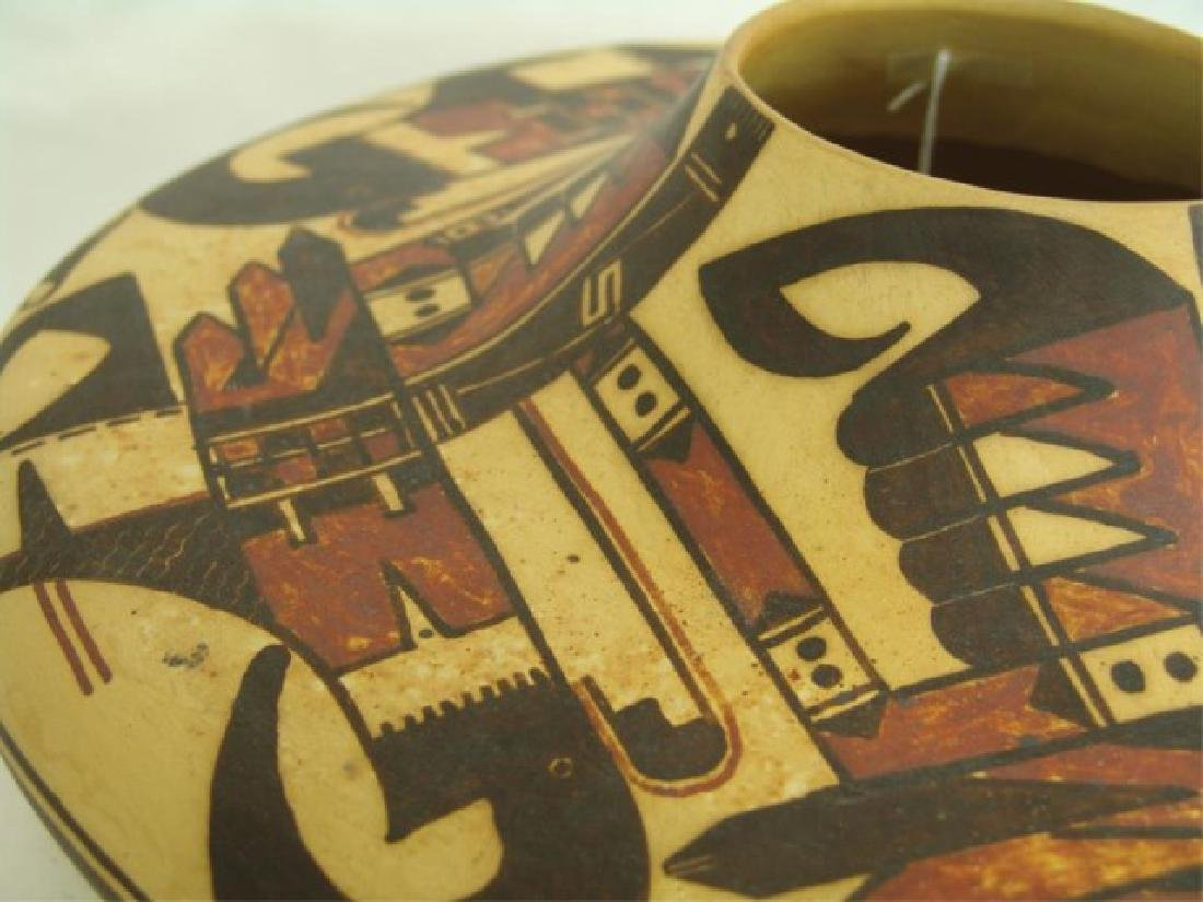 Hopi Style Pottery Jar - Michael Howley - 8
