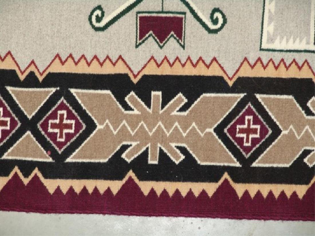 Large Navajo Rug/Weaving - 10