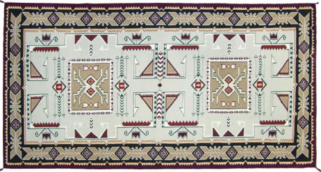 Large Navajo Rug/Weaving - 2