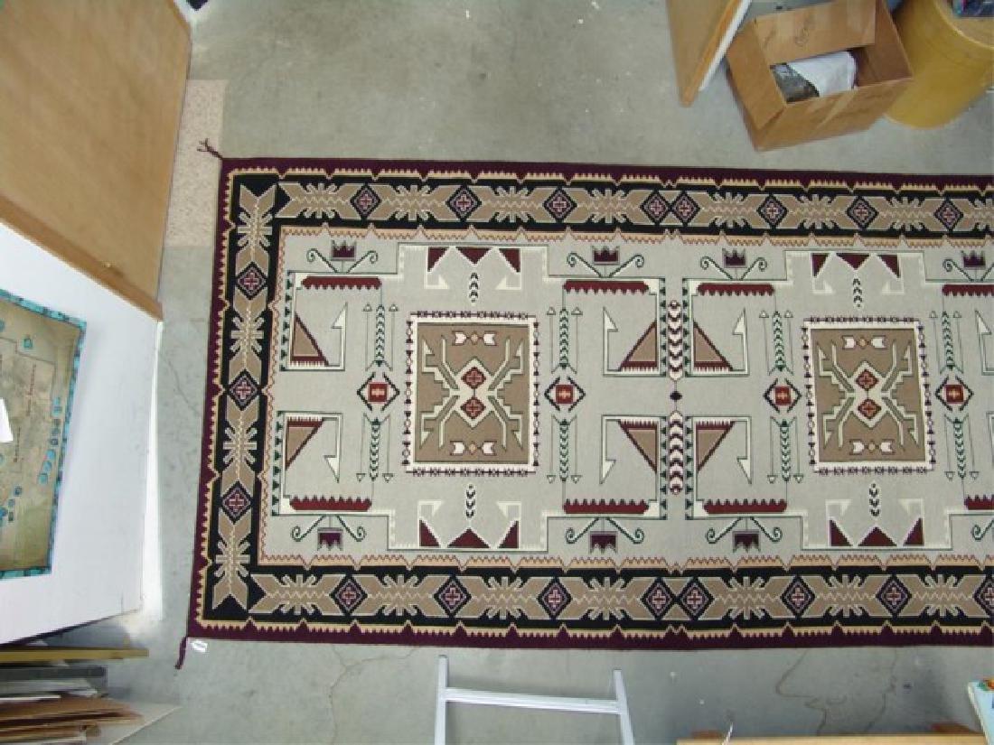 Large Navajo Rug/Weaving - 3