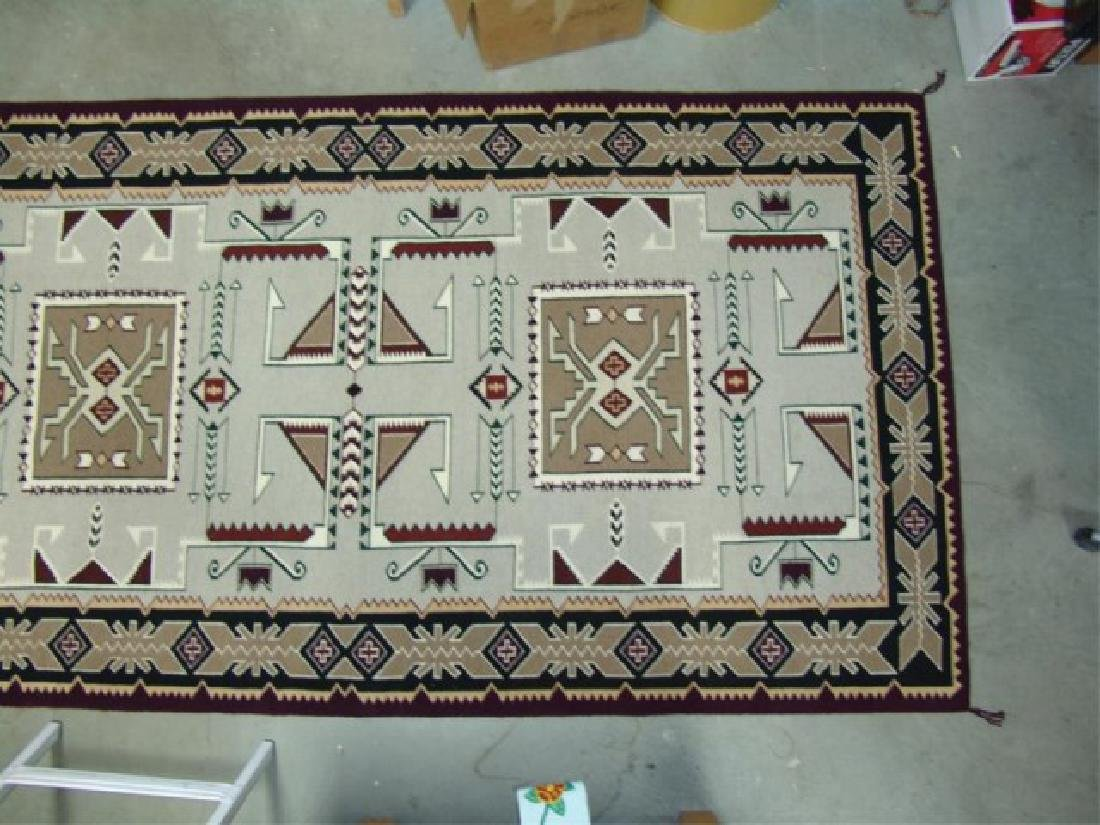 Large Navajo Rug/Weaving - 4