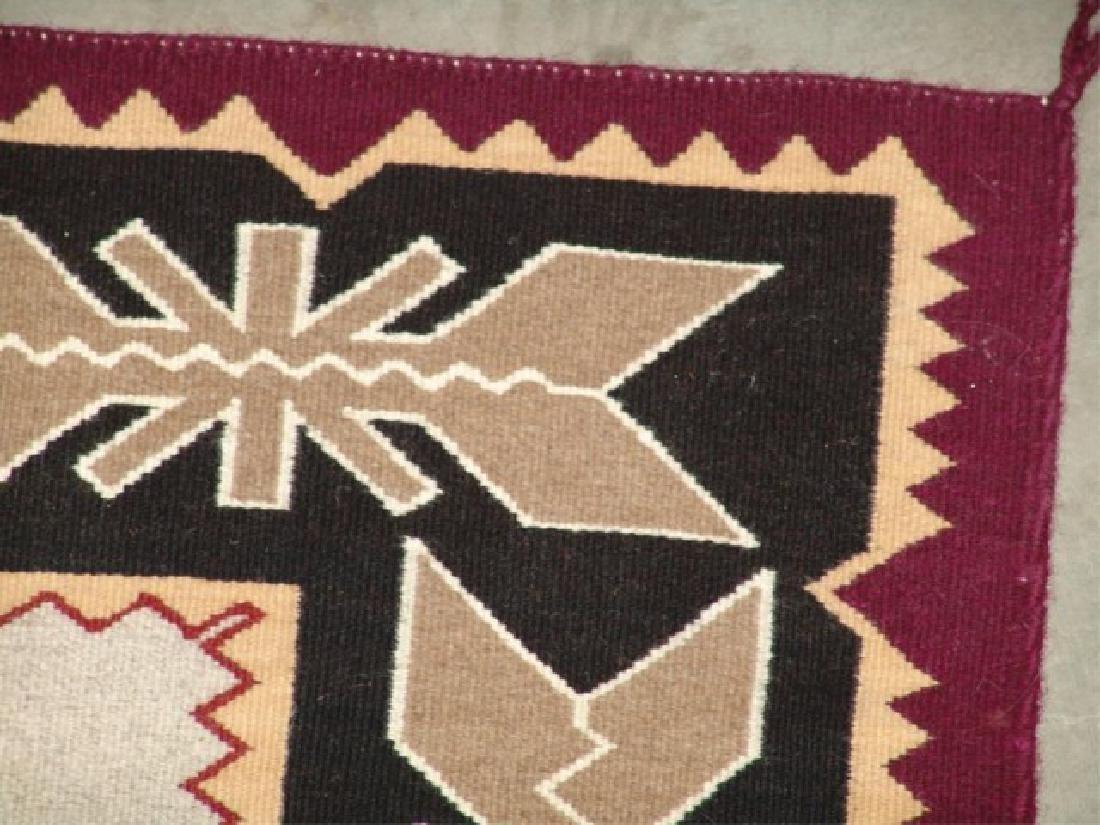 Large Navajo Rug/Weaving - 7
