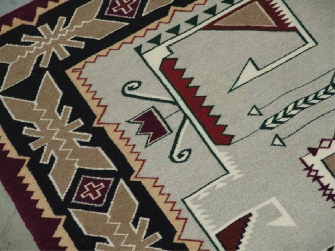 Large Navajo Rug/Weaving - 8