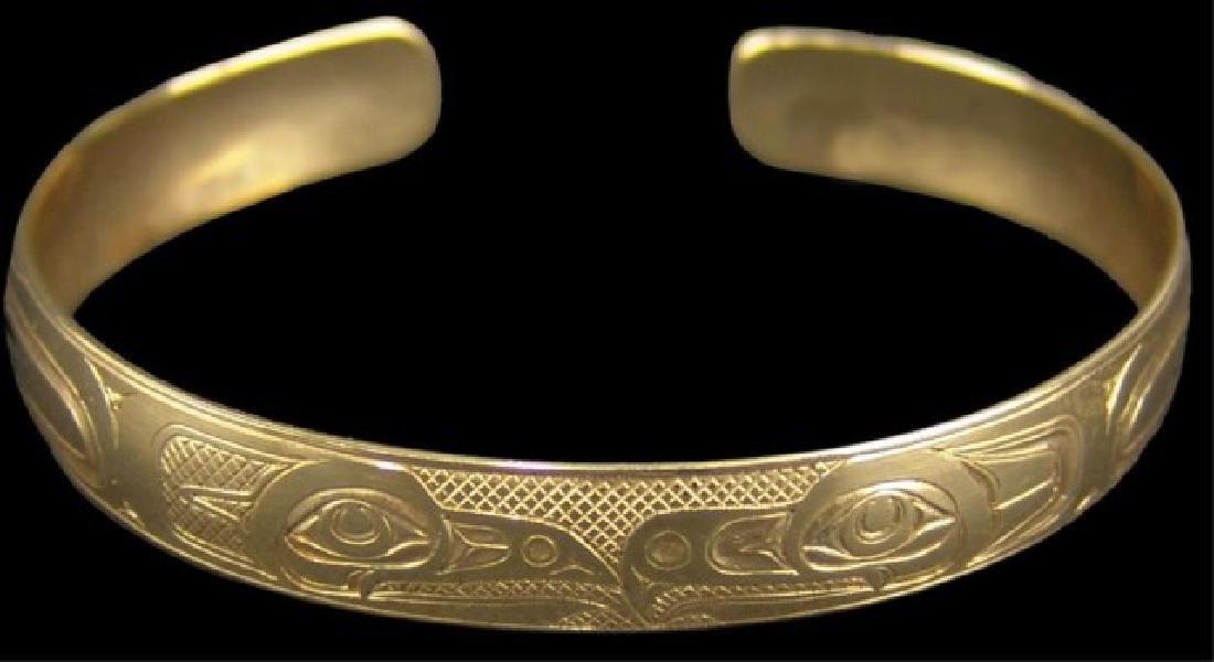 NW Coast Gold Bracelet - EAK