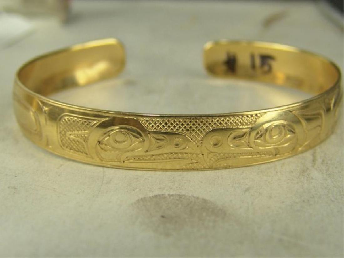 NW Coast Gold Bracelet - EAK - 2