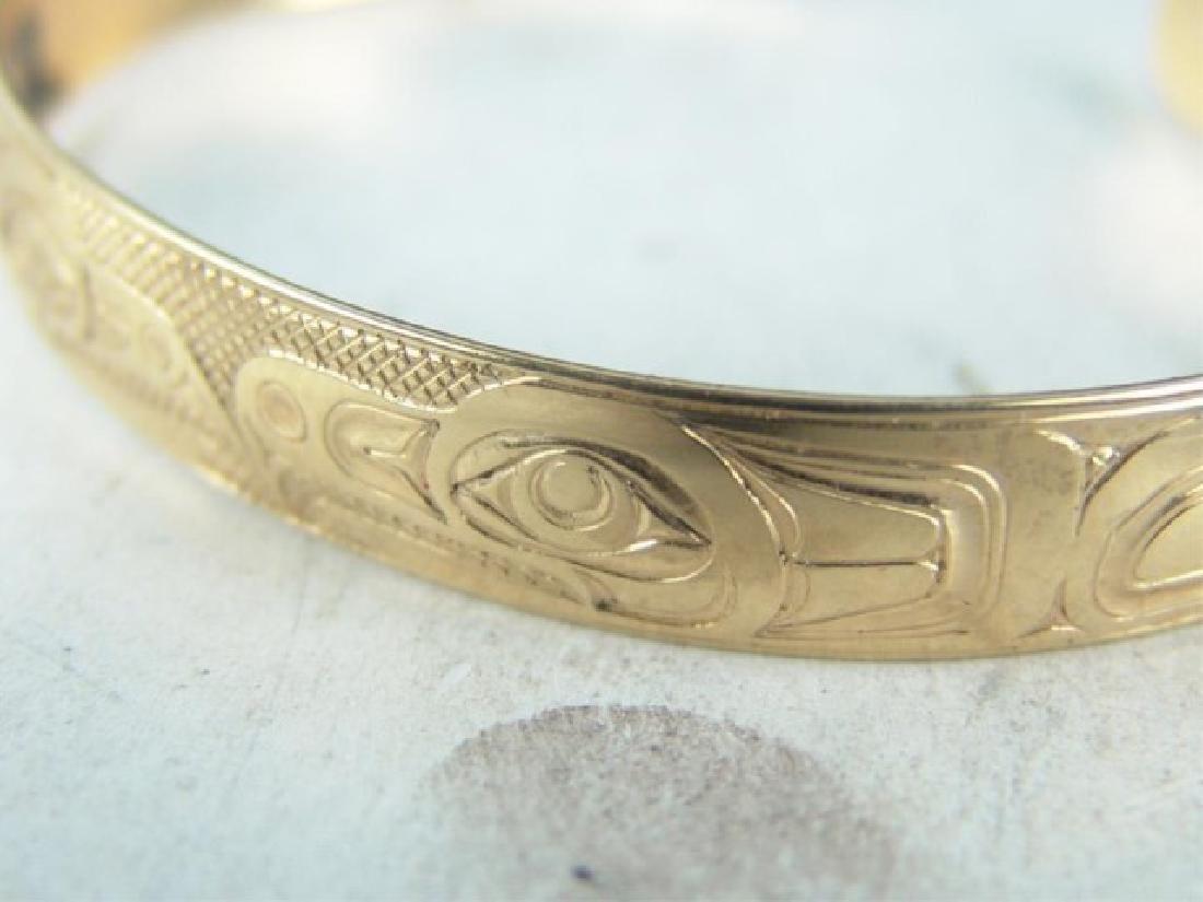NW Coast Gold Bracelet - EAK - 3