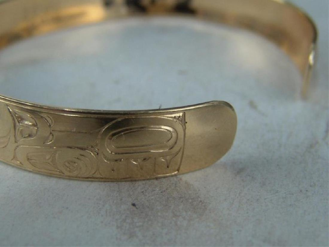 NW Coast Gold Bracelet - EAK - 4