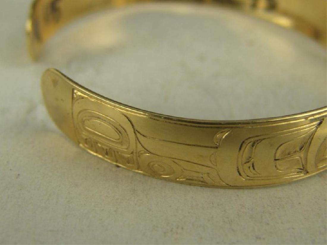 NW Coast Gold Bracelet - EAK - 6