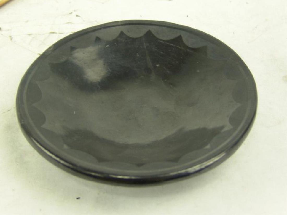 San Ildefonso Plate - Maria Martinez (1887-1980) - 2