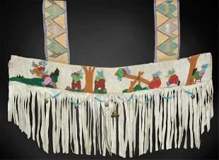 Nez Perce Beaded Martingale