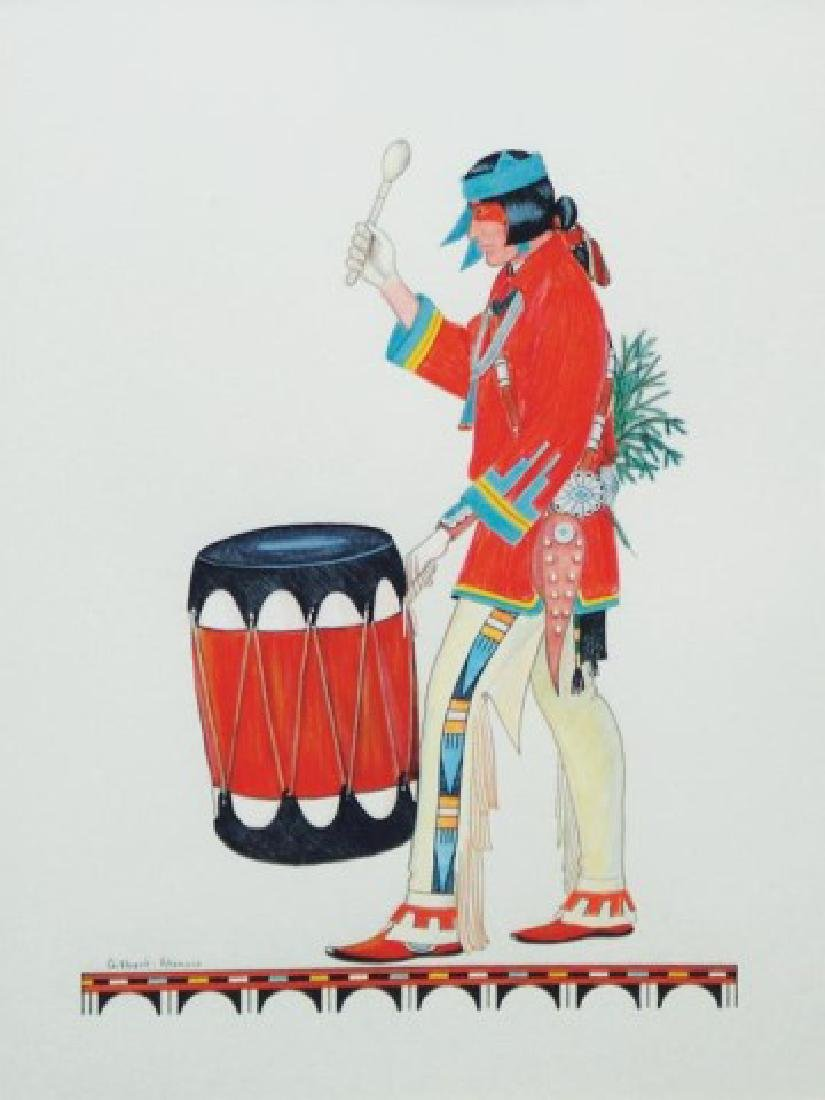 Gilbert Atencio, San Ildefonso (1930-1995)