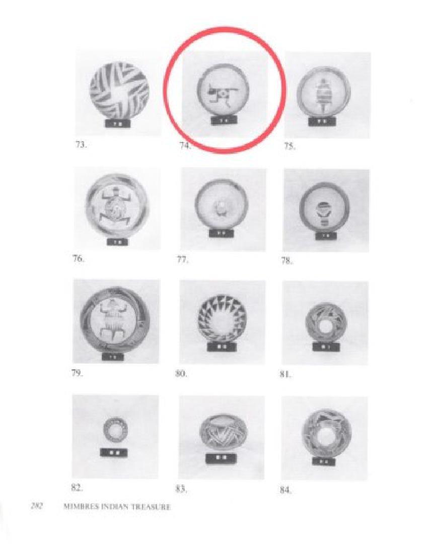 Mimbres Pottery Bowl - 9