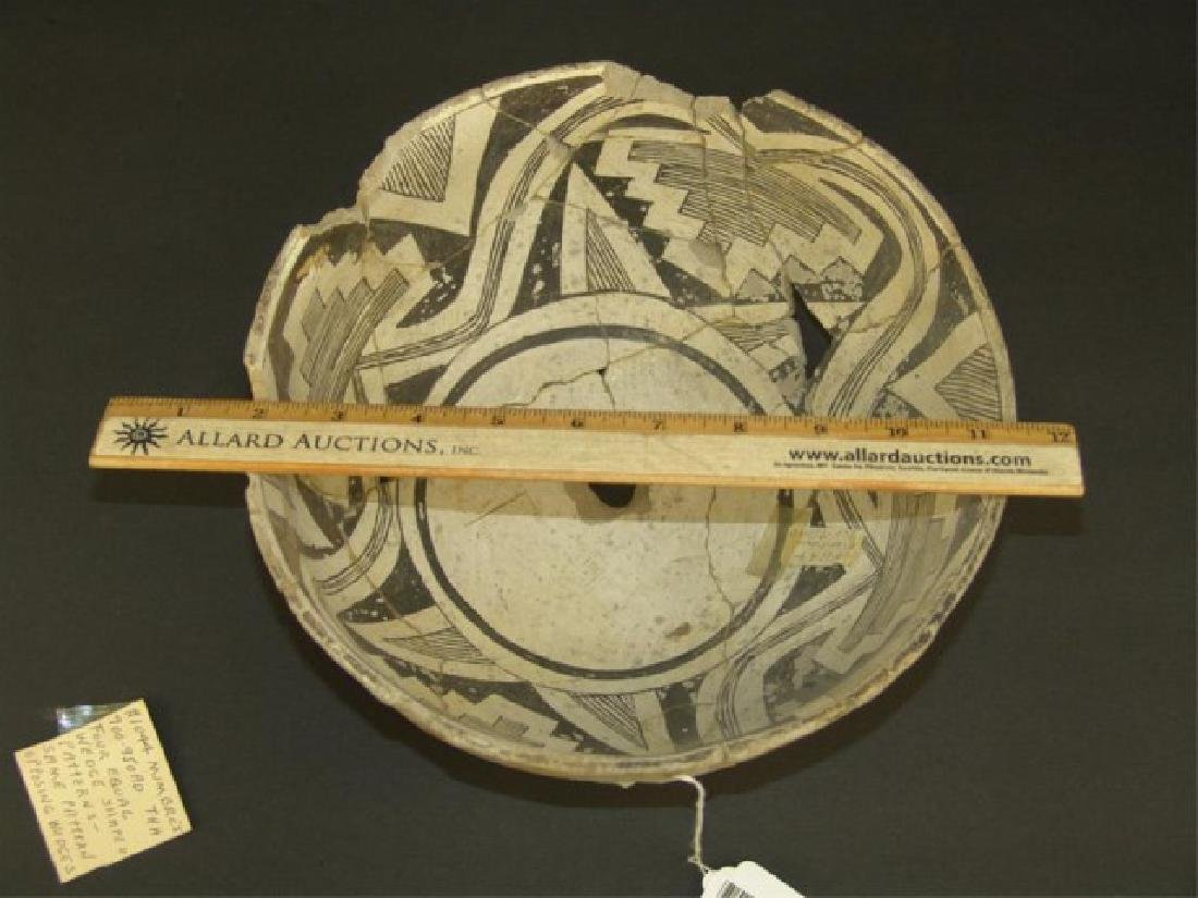 Mimbres Pottery Bowl - 7