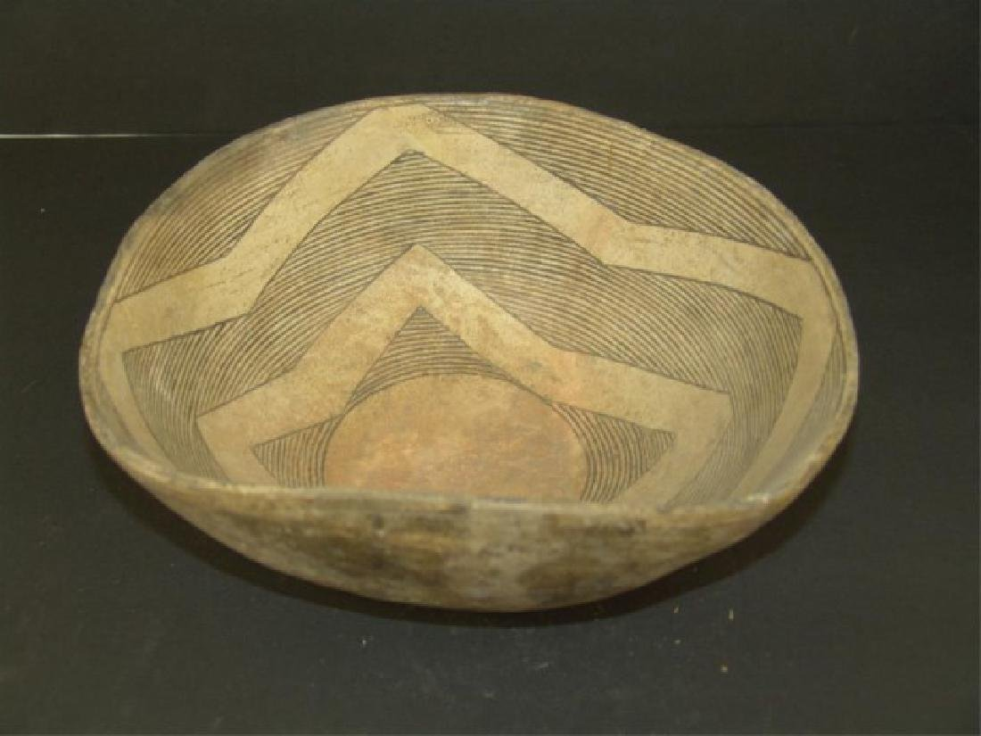 Mimbres Pottery Bowl - 4