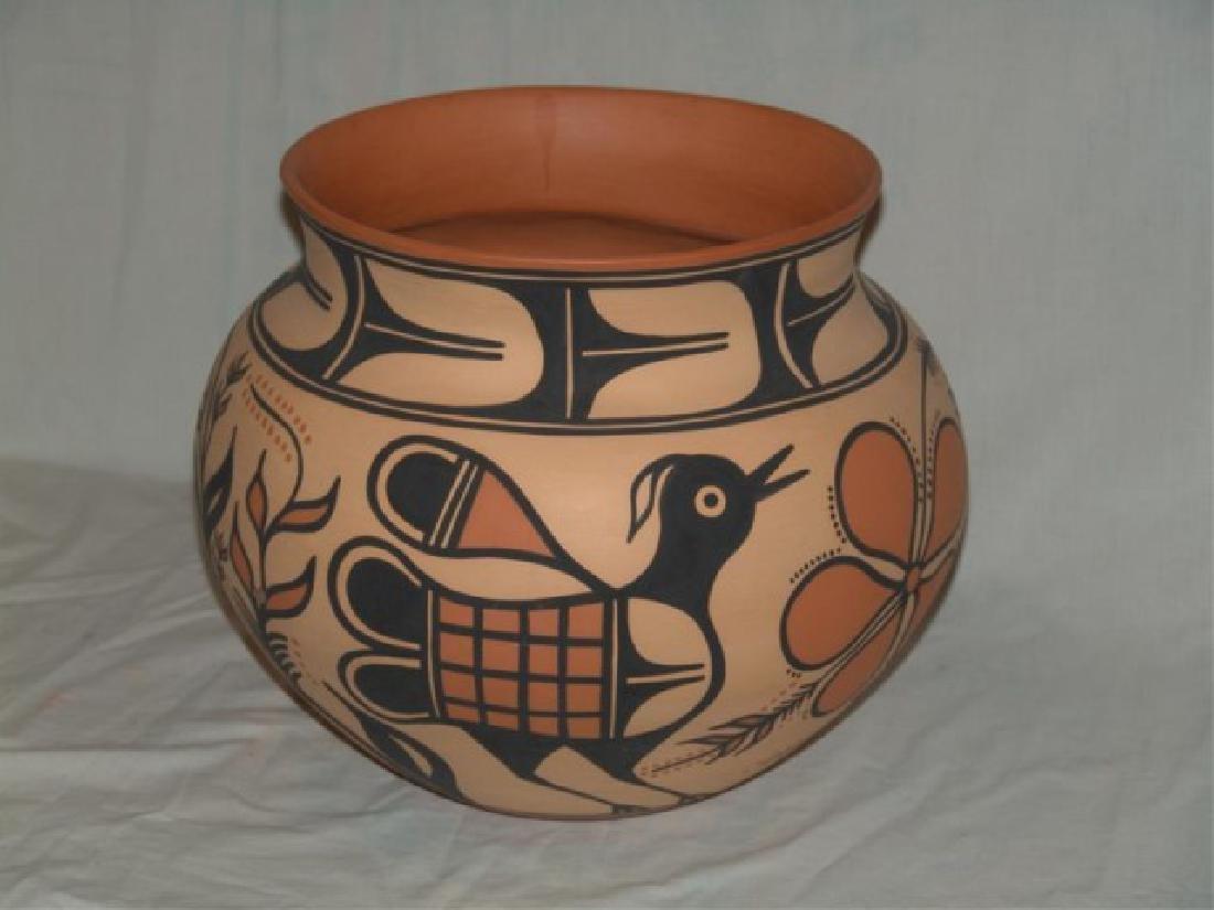 Large Santo Domingo Pottery Jar - Thomas Tenorio - 2