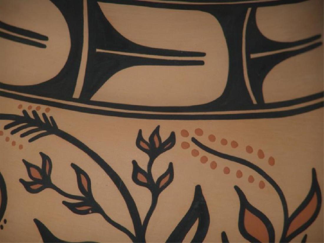 Large Santo Domingo Pottery Jar - Thomas Tenorio - 6