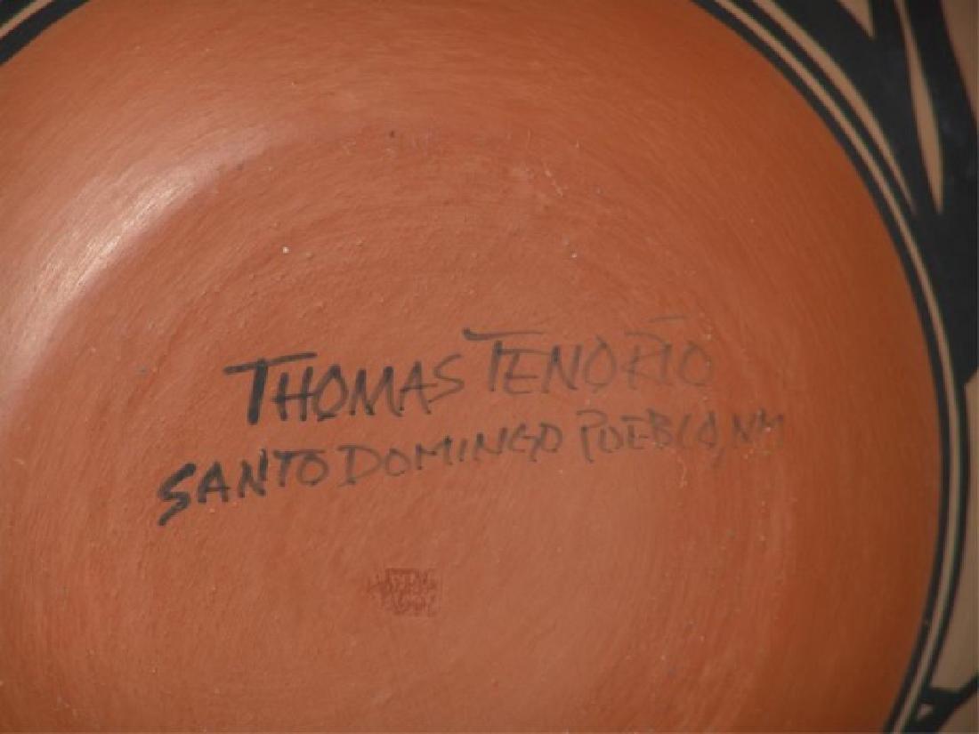 Large Santo Domingo Pottery Jar - Thomas Tenorio - 8