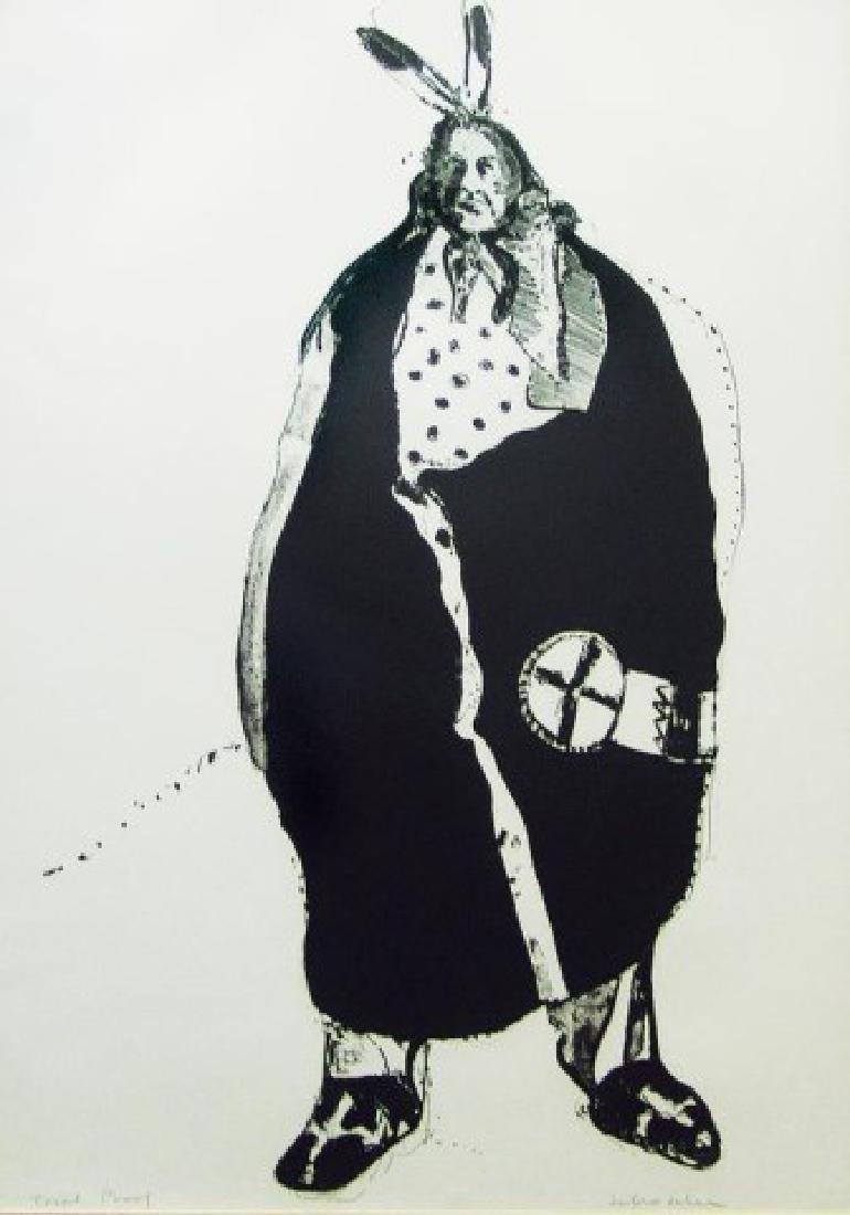 Fritz Scholder, Luise¤o (1937-2005) - 2
