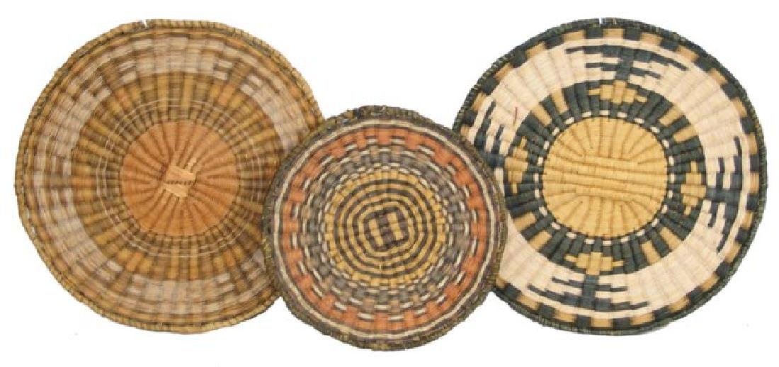 3 Hopi Baskets