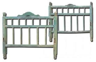 Antique Ranchero Bed