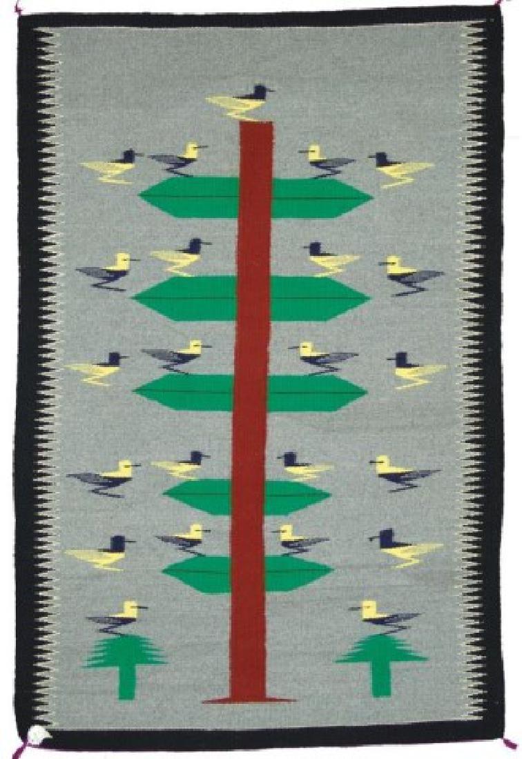 Navajo Rug/Weaving - Nellie Gray