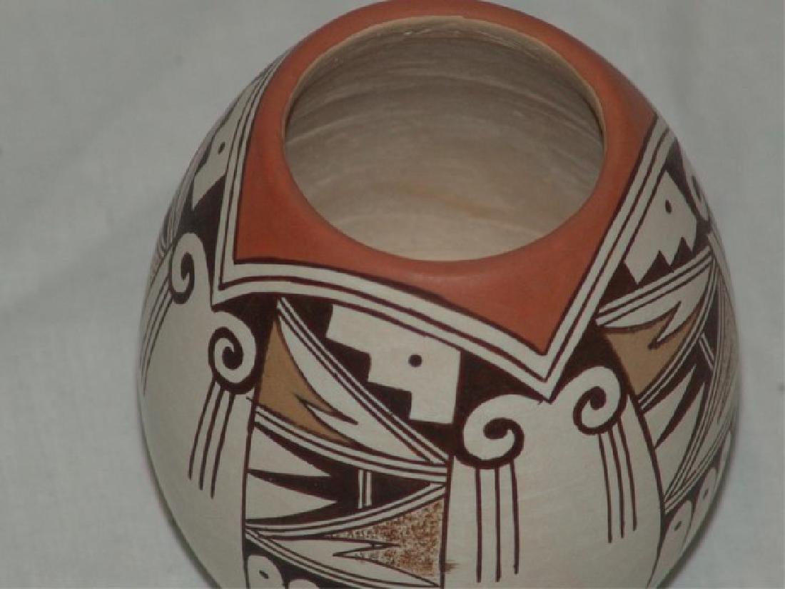 Hopi Pottery Jar - Earl Jackson - 4