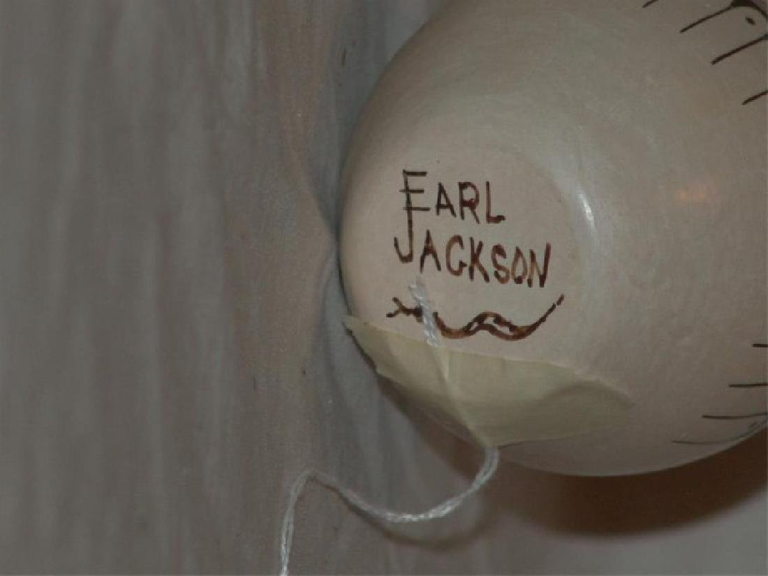 Hopi Pottery Jar - Earl Jackson - 5