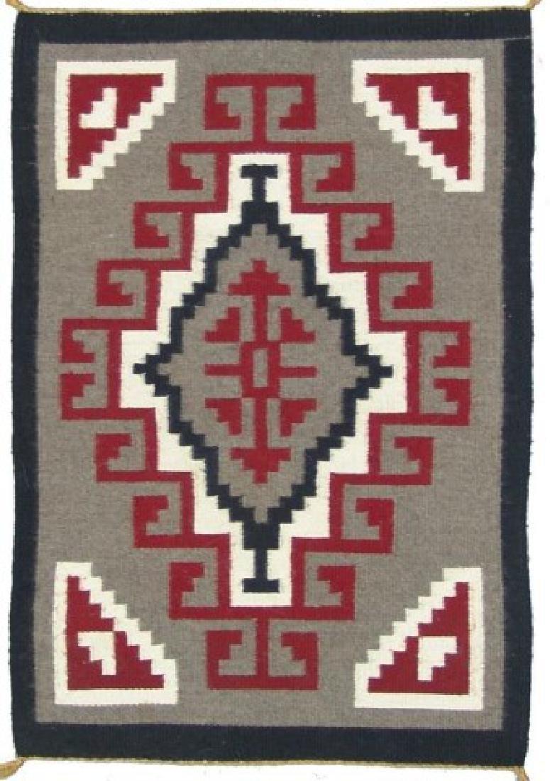 Navajo Rug/Weaving - Mary M. Yazzie