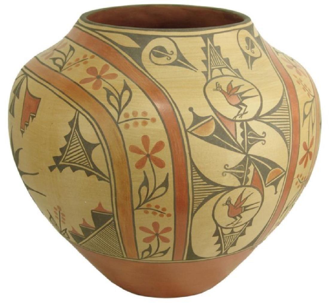 Huge Zia Pottery Jar - Lois Medina (1959-2003)
