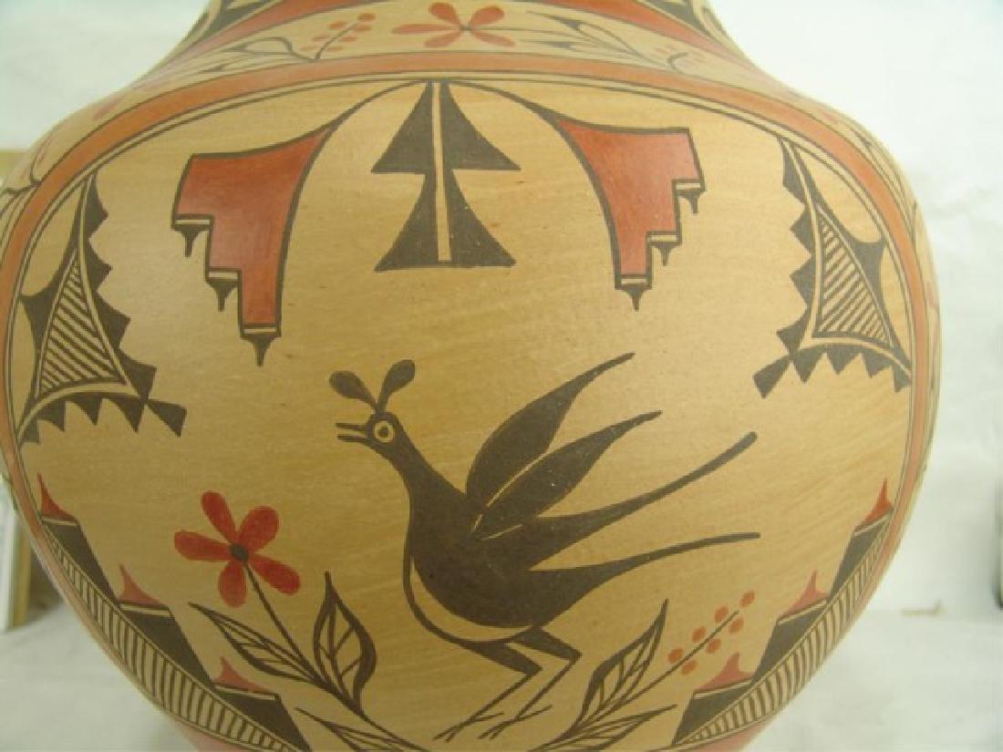 Huge Zia Pottery Jar - Lois Medina (1959-2003) - 9
