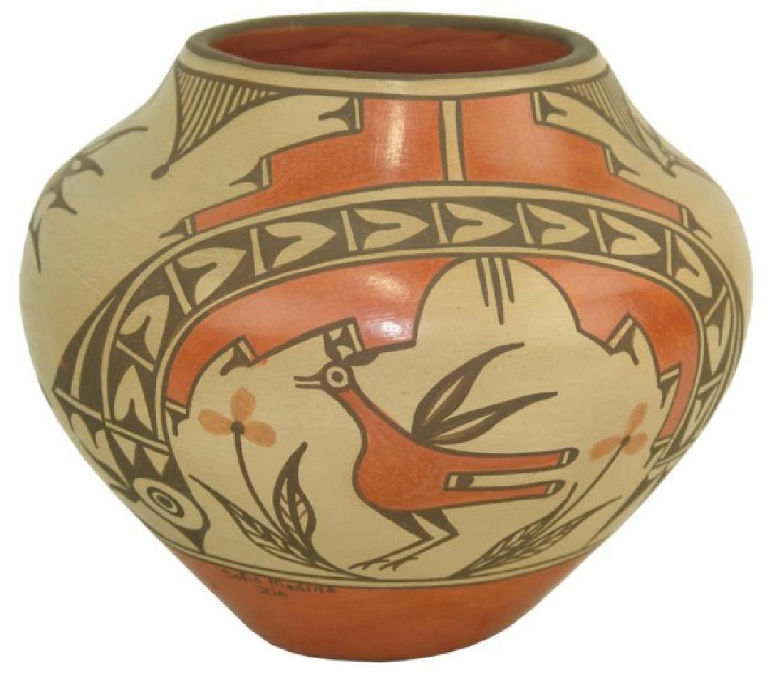 Zia Pottery Jar - Sofia Medina (1932-2010)