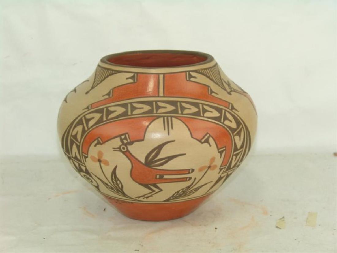 Zia Pottery Jar - Sofia Medina (1932-2010) - 2