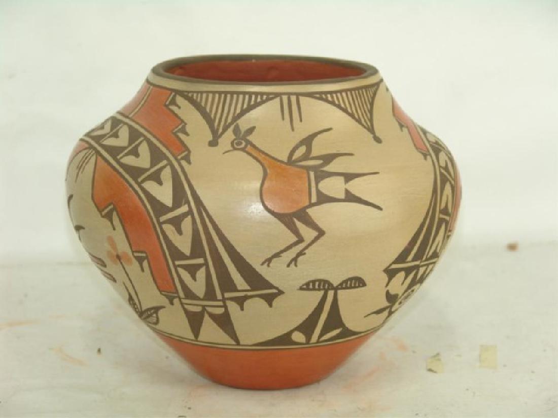 Zia Pottery Jar - Sofia Medina (1932-2010) - 3