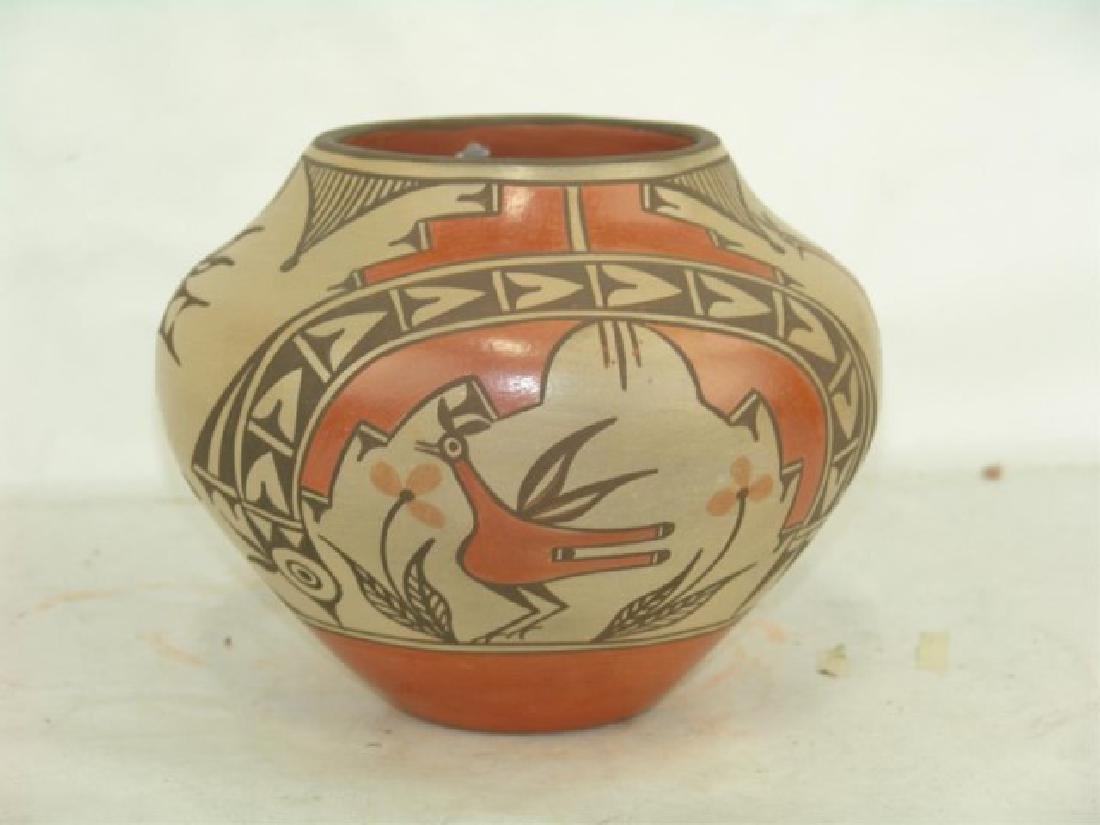 Zia Pottery Jar - Sofia Medina (1932-2010) - 4