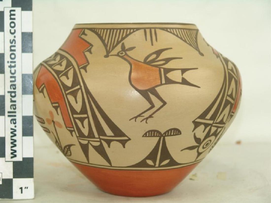Zia Pottery Jar - Sofia Medina (1932-2010) - 5