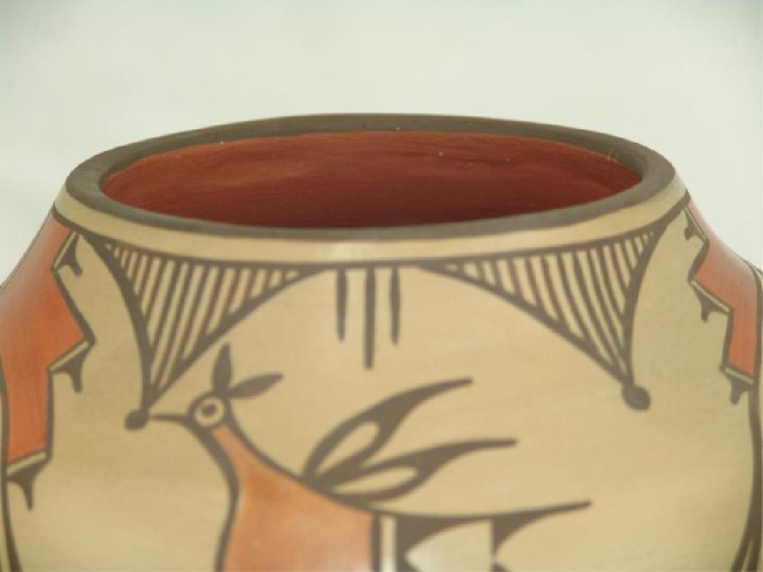 Zia Pottery Jar - Sofia Medina (1932-2010) - 6