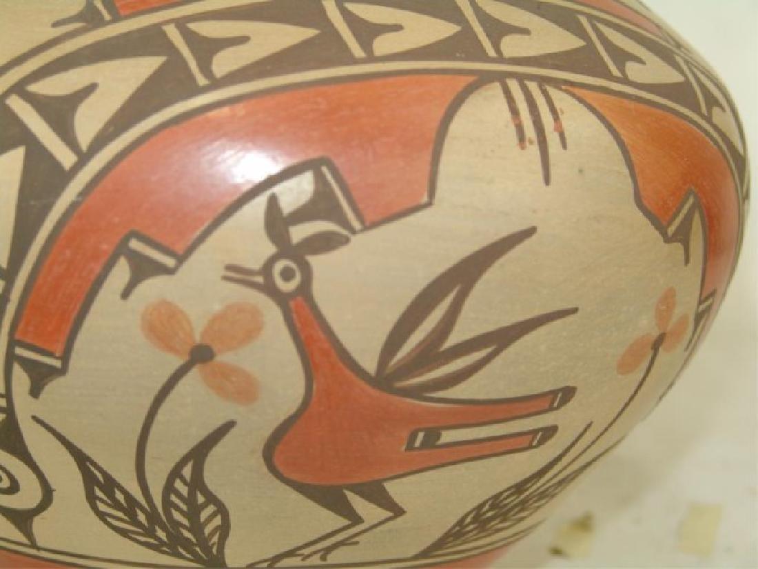 Zia Pottery Jar - Sofia Medina (1932-2010) - 7