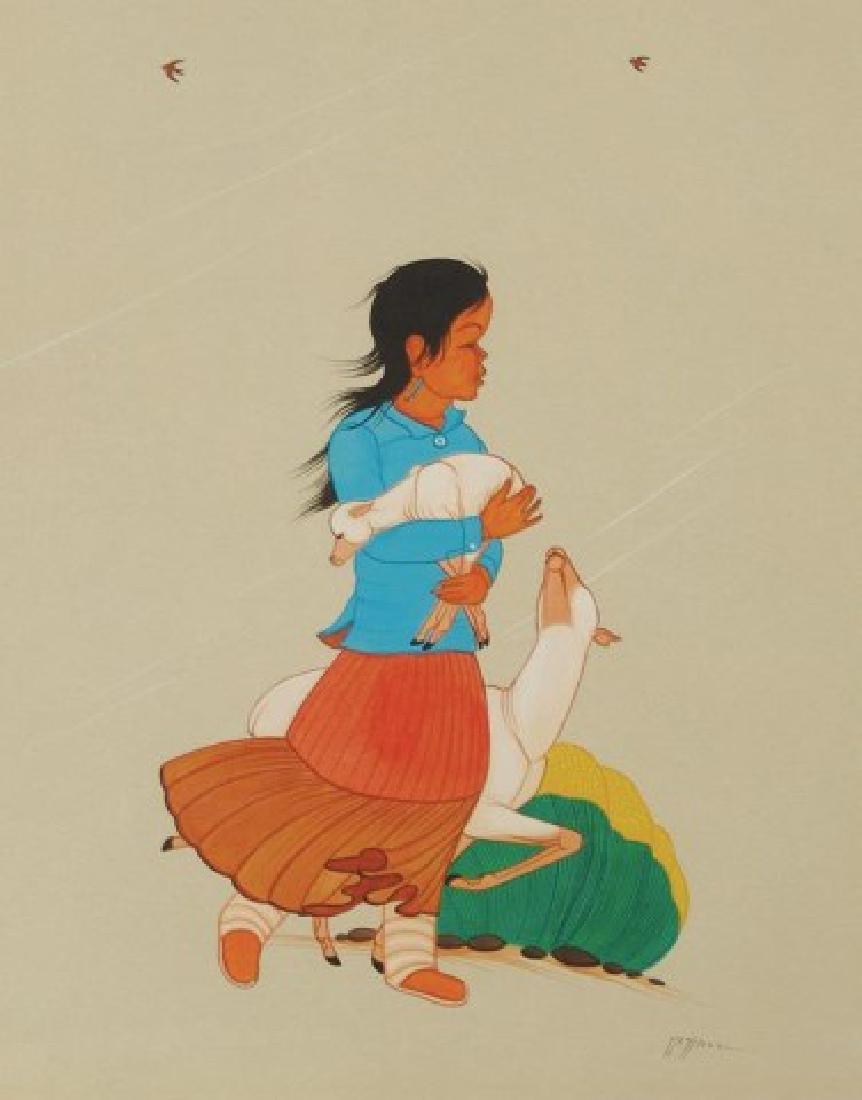 Beatien Yazz, Navajo (1928-2012)